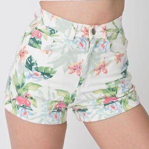 American Apparel flamingo Shorts